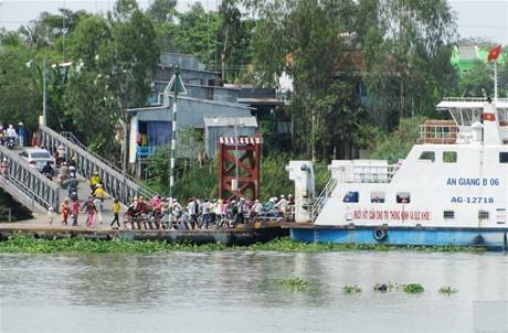 An Giang xây dựng cầu Châu Đốc  theo hình thức PPP