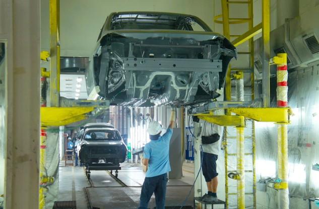 Một DN nước ngoài trong lĩnh vực cơ khí ô tô đang hoạt động tại Khu công nghiệp Hòa Khánh (Đà Nẵng). Ảnh: VGP