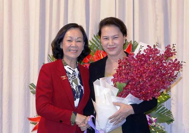 Đồng chí Trương Thị Mai nhận trọng trách mới