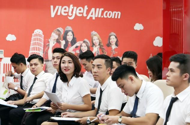 Cơ hội trở thành tiếp viên cùng Vietjet