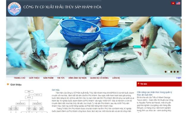 Xuất khẩu Thủy sản Khánh Hòa bị phạt do vi phạm khi mua cổ phiếu quỹ