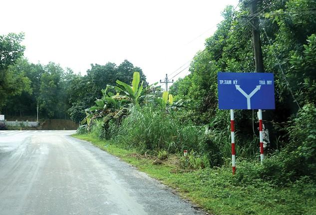 Nhiều cơ quan, ban ngành thuộc huyện Nam Trà My (Quảng Nam) không công khai kết quả lựa chọn nhà thầu. Ảnh: Thùy Anh