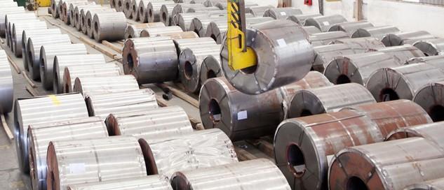 Khối lượng hàng hóa là inox Công ty Châu Âu thế chấp cho các ngân hàng rất lớn, hơn 5.400 tấn nhưng thực tế hàng hóa trong kho chỉ có 632 tấn. Ảnh: Tường Lâm