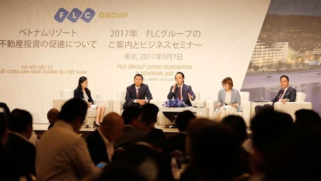 Roadshow và Hội thảo về cơ hội đầu tư bất động sản nghỉ dưỡng tại Việt Nam của Tập đoàn FLC tại Tokyo, Nhật Bản tháng 9/2017