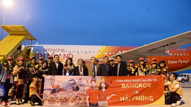 Vietjet khai trương đường bay Hải Phòng – Bangkok