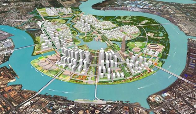 Vingroup được chọn làm dự án nghìn tỷ tại Khu đô thị mới Thủ Thiêm