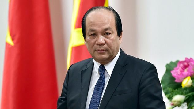 Bộ trưởng, Chủ nhiệm VPCP Mai Tiến Dũng cho biết Thủ tướng muốn nắm thông tin nhanh nhất, chính thức nhất, trực tiếp nhất từ các nhà khoa học. - Ảnh: VGP/Nhật Bắc