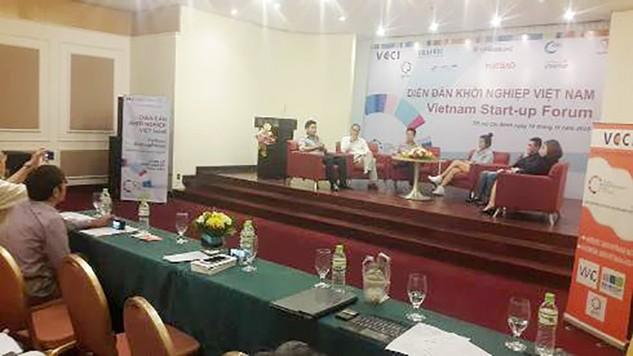Diễn đàn Khởi nghiệp Việt Nam tại TP.HCM diễn ra ngày 16/11/2016   Ảnh Internet