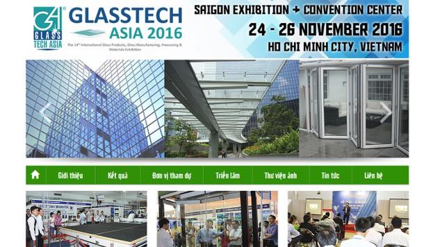 Sắp khai mạc Triển lãm Glasstech ASIA 2016
