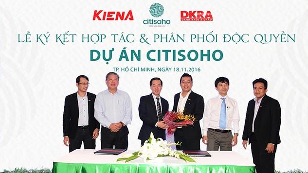 Danh Khôi Á Châu tiếp thị và phân phối độc quyền dự án Citisoho