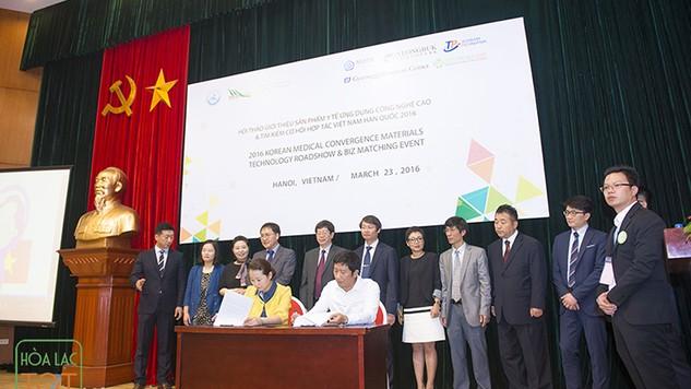 Hội thảo là cơ hội để kết nối cung - cầu công nghệ giữa doanh nghiệp của 2 quốc gia