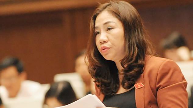 Đại biểu Trần Thị Hiền (đoàn Hà Nam) đã nêu quan điểm của mình về tình trạng thanh tra, kiểm tra, kiểm toán tại các DN