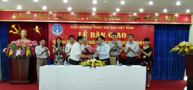 Bàn giao tài sản nhà nước cho Trường Cao đẳng nghề GTVT
