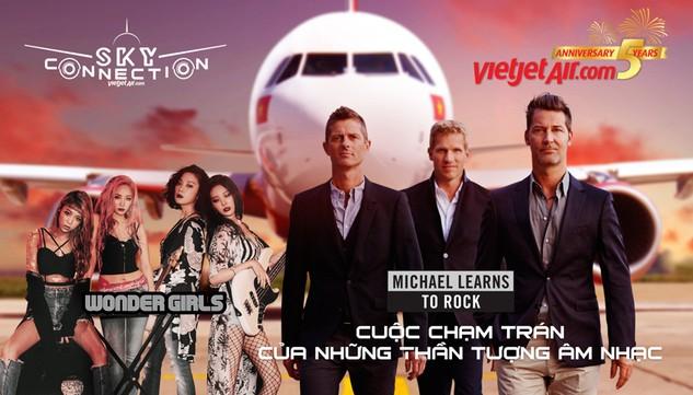 Sky Connection: Cuộc chạm trán của các thần tượng âm nhạc Michael Learns To Rock & Wonder Girls
