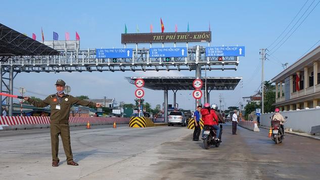 Điều chỉnh giảm phí BOT Trạm Phú Bài (Thừa Thiên Huế)