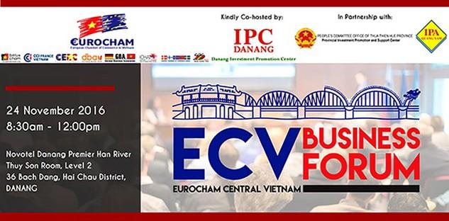 EuroCham tổ chức Diễn đàn Kinh doanh Khu vực miền Trung