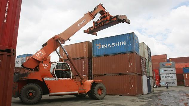 Trên địa bàn TP.HCM, hiện có 11 ICD kết nối với các cảng biển Vũng Tàu. Ảnh: Tường Lâm