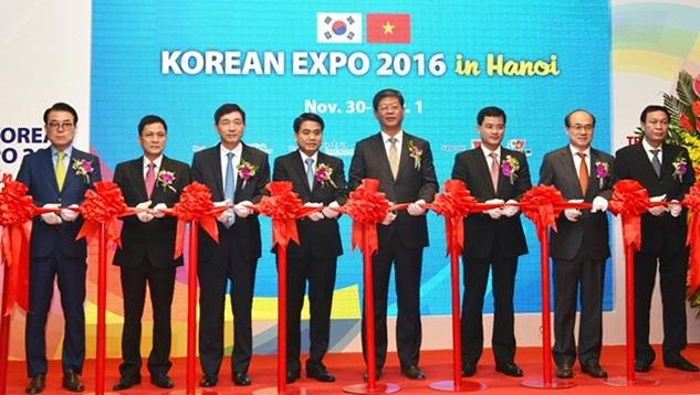 Gần 500 DN tham gia Triển lãm - Giao thương Hàn Quốc 2016