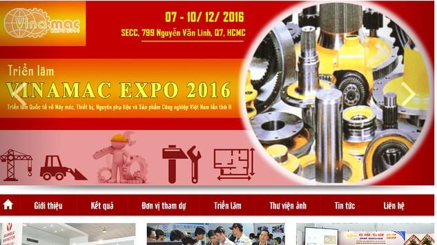 200 doanh nghiệp tham gia triển lãm về máy móc, thiết bị