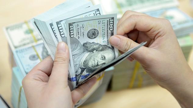 USD ngân hàng tiếp tục giảm, chỉ còn bán ra ở mức 22.660 đồng/USD