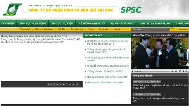 Không có NĐT đăng ký tham dự đấu giá cổ phần của Công ty CP Dịch vụ Dầu khí Sài Gòn