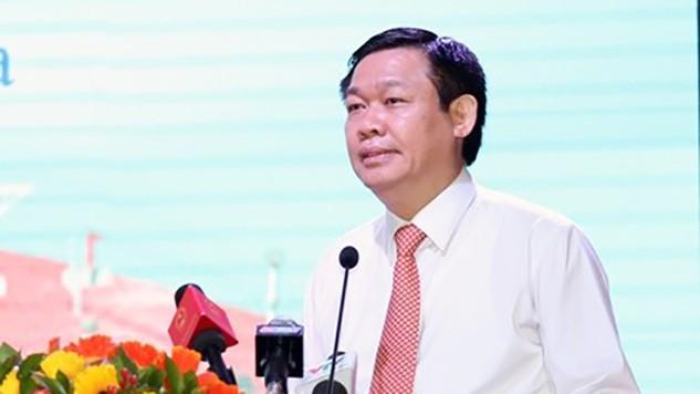 Phó Thủ tướng Vương Đình Huệ, Trưởng Ban chỉ đạo Tây Nam Bộ chủ trì hội nghị.