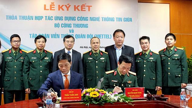Chọn Viettel là đối tác chiến lược thúc đẩy ứng dụng CNTT