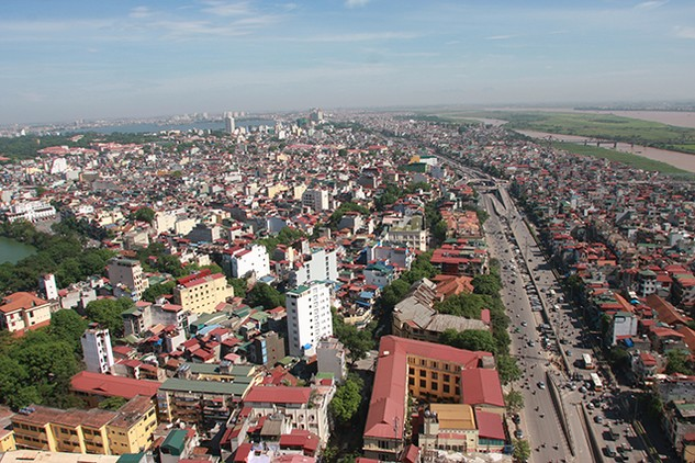 Tính đến năm 2016, cả nước đã có 802 đô thị và hơn 10.000 điểm dân cư nông thôn. Ảnh: Tường Lâm