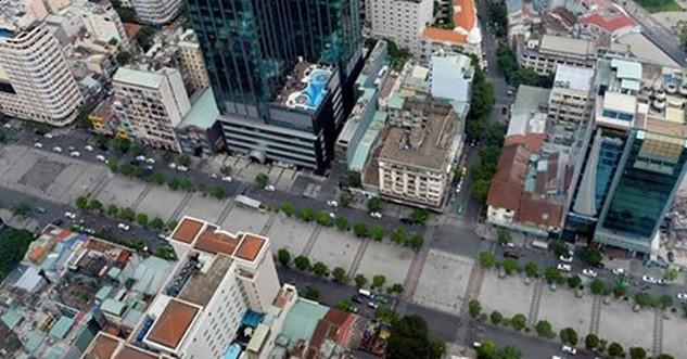 Khu tứ giác vàng được nhiều tập đoàn bất động sản lớn nhòm ngó.