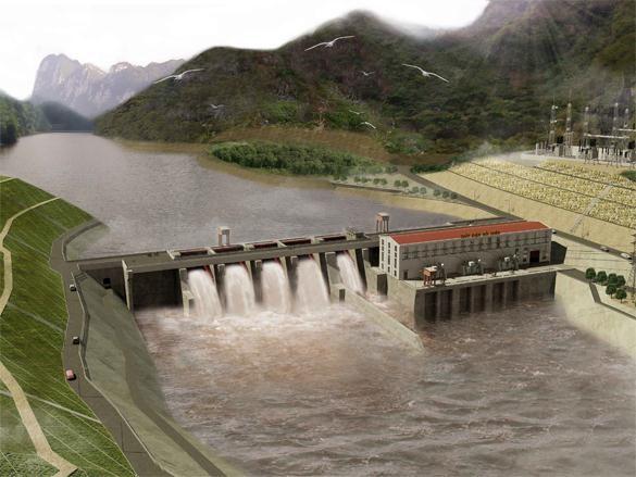 Tổ máy 1 Thủy điện Trung Sơn hòa lưới điện quốc gia