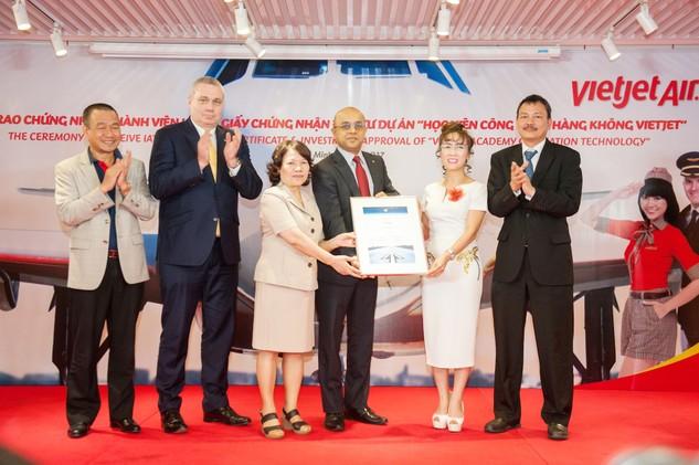 Vietjet chính thức là thành viên Hiệp hội Vận tải Hàng không Quốc tế