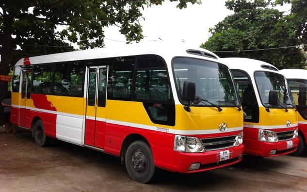 Đấu giá tài sản Lô xe ô tô buýt 12 chiếc tại Kiên Giang
