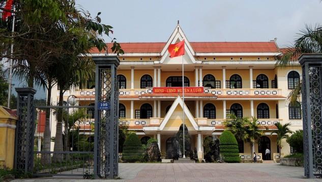 Đấu giá Cơ sở nhà đất trụ sở phòng Nội vụ huyện A Lưới (Thừa Thiên Huế)