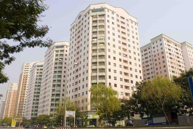 Đo hướng của tòa nhà chung cư bằng la bàn