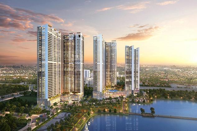 Penthouse và sky villa là sản phẩm cao cấp nhất của dự án Vinhomes Skylake, được bố trí số lượng có hạn tại các tầng trên cùng của tòa căn hộ S2 và S3.
