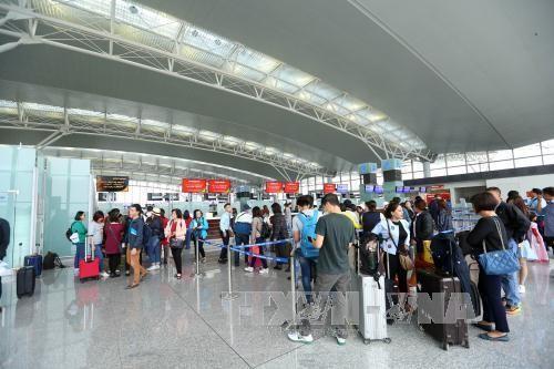Ngày càng nhiều doanh nghiệp quan tâm đến lĩnh vực hàng không. Ảnh minh họa:TTXVN