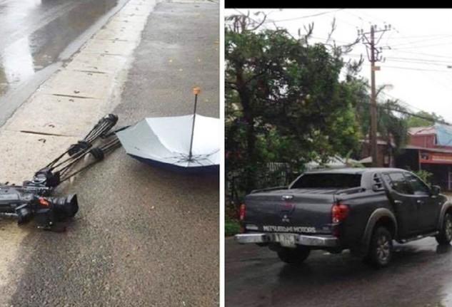 Công an huyện Sóc Sơn đã ra Lệnh bắt khẩn cấp đối tượng dùng ô tô đâm hỏng máy quay phim của phóng viên VTV.