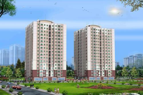 Mô hình dự án chung cư Tam Bình ở Thành phố Hồ Chí Minh. Ảnh minh họa : internet