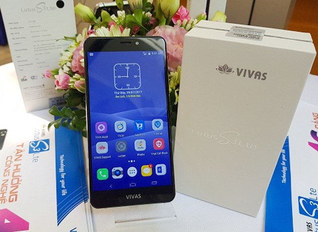 "VNPT Technology ra mắt điện thoại ""Made in Vietnam"" Vivas Lotus S3 LTE và SmartBox PC"