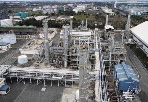 Bên trong khu công nghiệp Phú Mỹ 1, huyện Tân Thành, tỉnh Bà Rịa - Vũng Tàu. Ảnh: TTXVN