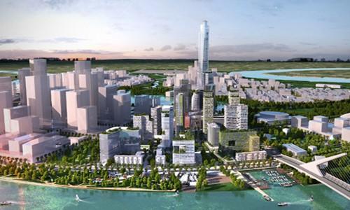 Thủ Thiêm được dự báo sẽ trở thành tâm điểm của bất động sản cao cấp toàn TPHCM trong năm 2018.