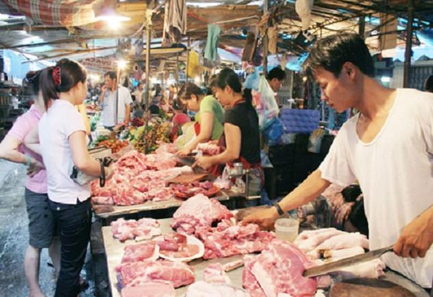 Đà Nẵng mời thầu bán thịt heo bình ổn giá Tết. Ảnh Internet