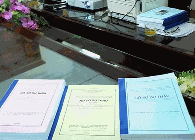 Hướng dẫn lập báo cáo đánh giá hồ sơ dự thầu. Ảnh Internet