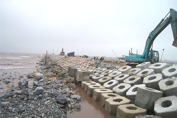 Định mức dự toán sửa chữa công trình đường thủy nội địa. Ảnh Internet