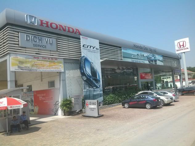 Công ty TNHH Motor N.A Việt Nam, chủ sở hữu showroom Honda Tây Hồ là một trong các nhà đầu tư quan tâm đến lô cổ phần của Vinamotor. Ảnh: LTT st