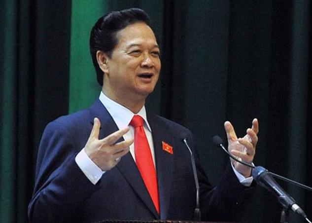 Người đứng đầu Chính phủ khẳng định sẽ cơ cấu lại nợ công theo hướng ổn định, bền vững.