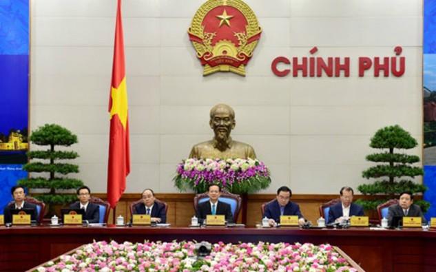 Thủ tướng Nguyễn Tấn Dũng chủ trì phiên họp trực tuyến cuối năm của Chính phủ với các địa phương, sáng 28/12.