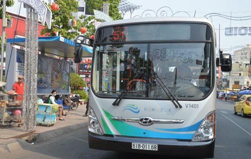 Hợp phần 2 Dự án Xe buýt nhanh thực hiện theo hình thức PPP. Ảnh Internet