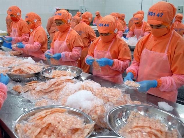 Kim ngạch xuất khẩu thủy sản năm 2015 giảm 10,4%. Ảnh Internet