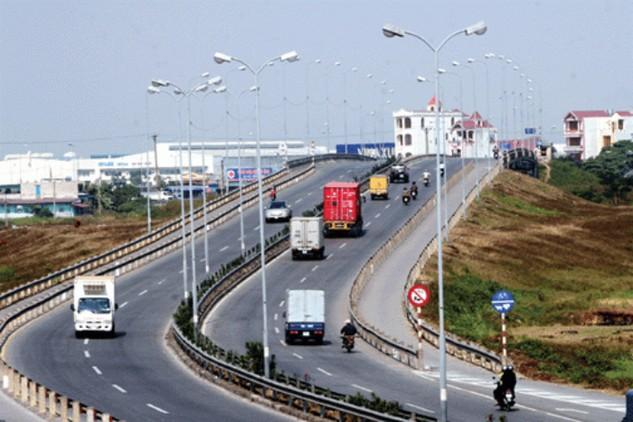 Chỉ số cạnh tranh về hạ tầng giao thông đã tăng 36 bậc trong 5 năm gần đây. Ảnh Internet